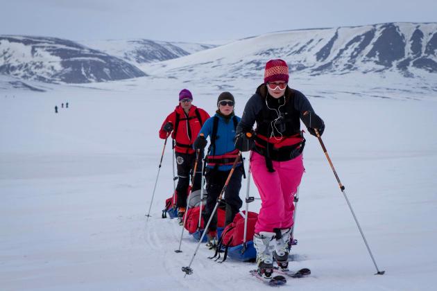 Skis and Pulks